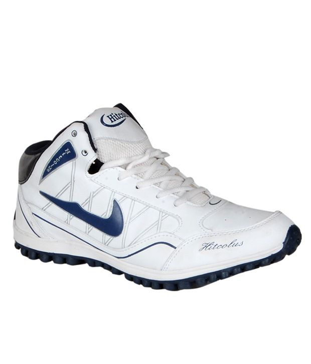 Hitcolus White/ Blue Sport Shoes