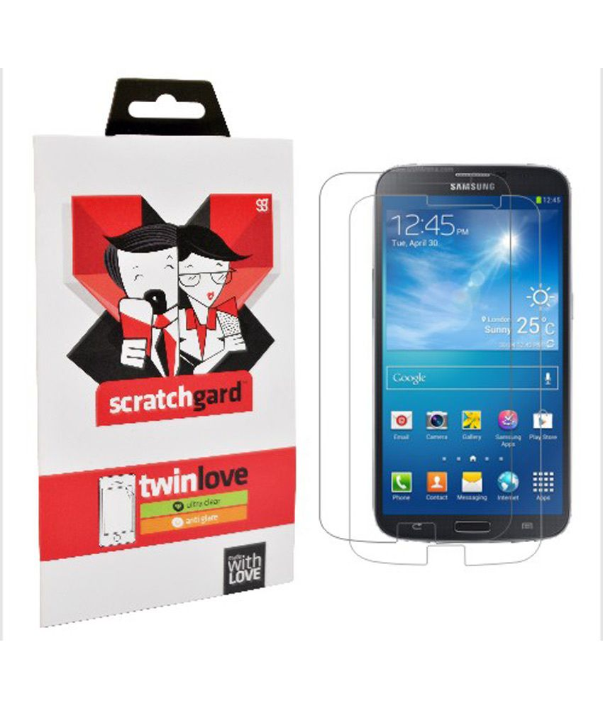 Scratchgard Twin Pack - Clear & Matte Screen Protectors For Samsung I9200 Galaxy Mega 6.3