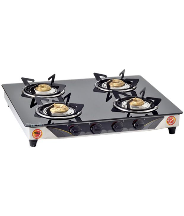 Surya Link Manual Gas Cooktop (4 Burner)