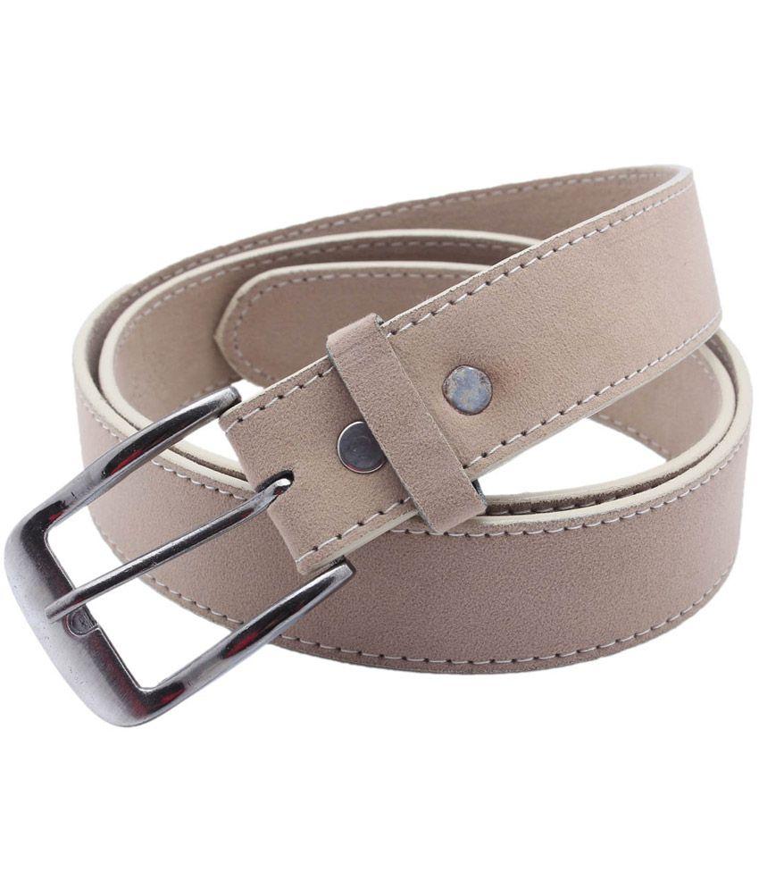 Nr Beige Non Leather Formal Belt