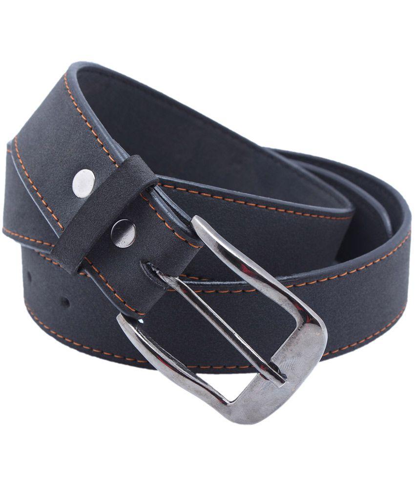 Nr Black Non Leather Formal Belt