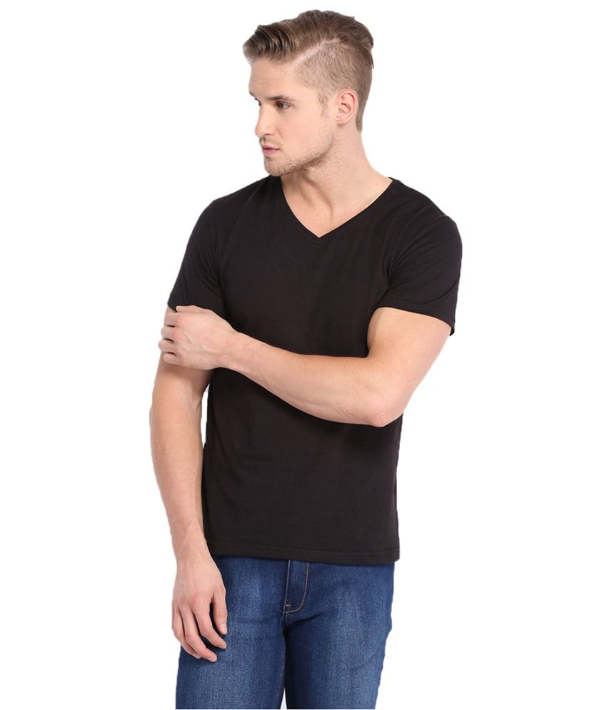 Highlander Black T Shirt Regular Fit