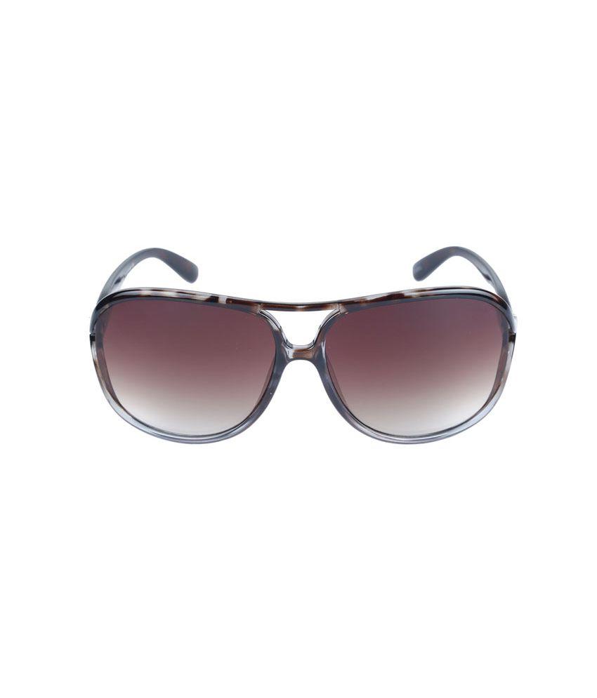 Izarra Brown Large Women's Oversized Sunglasses