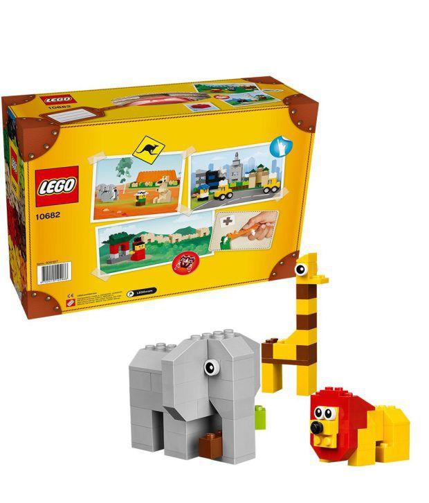 Lego Bricks & More 10682 Creative Suitcase Construction Set - Buy ...