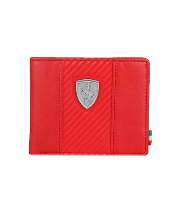 81f983a278 Puma Mens Red Ferrari Wallet: Buy Online at Low Price in India - Snapdeal