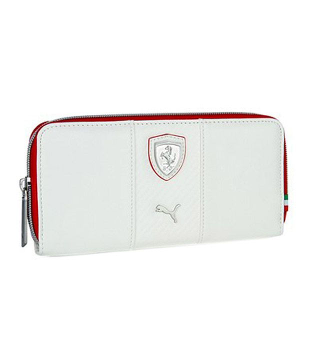 8d8c9d6a4960d Puma Women White Ferrari Wallet  Buy Online at Low Price in India - Snapdeal