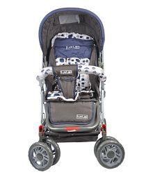 Icretail Luvlap Baby Stroller Sunshine - Dark Grey