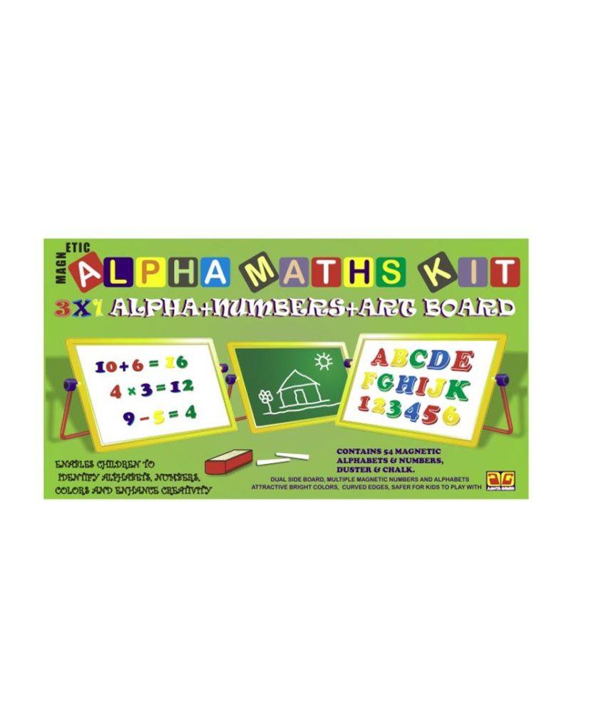 Ajanta Games Apha Math Kit Board Games For Girls - Buy