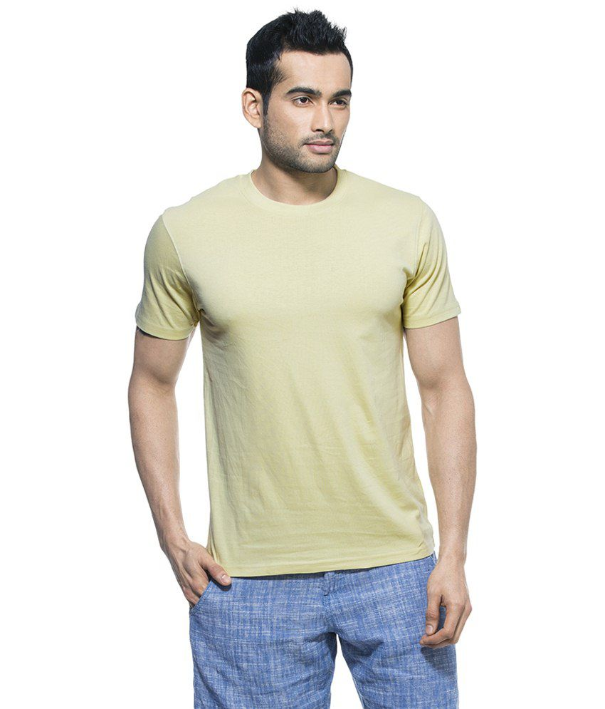 Zovi Green Haze Round Neck T Shirt