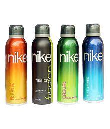 Nike Combo Of 4 Unique Deodorants For Men