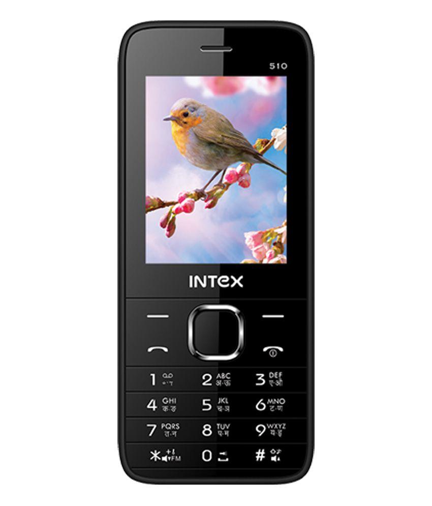 Intex Mega 510 (White And Black)