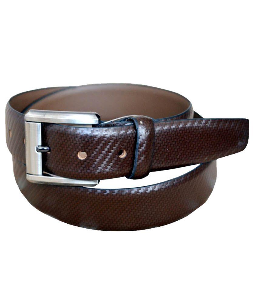 Silverbull Brown Genuineleatherbelt