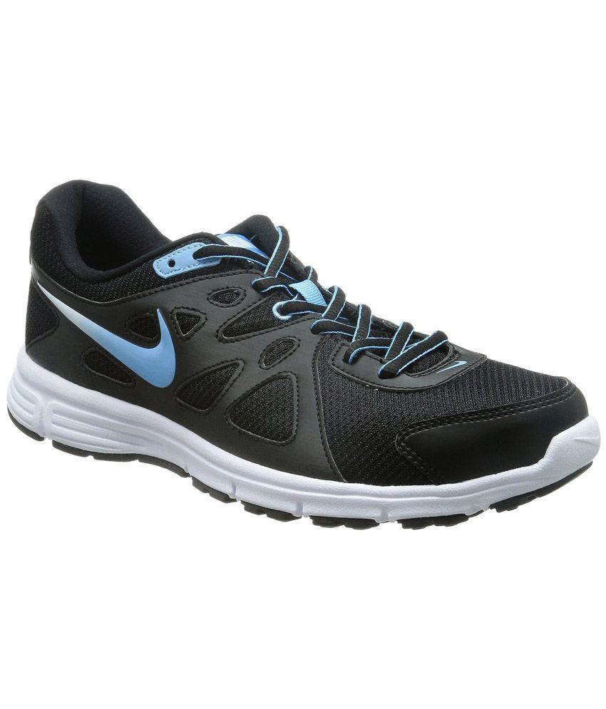 Nike Revolution  Msl Black Running Shoes