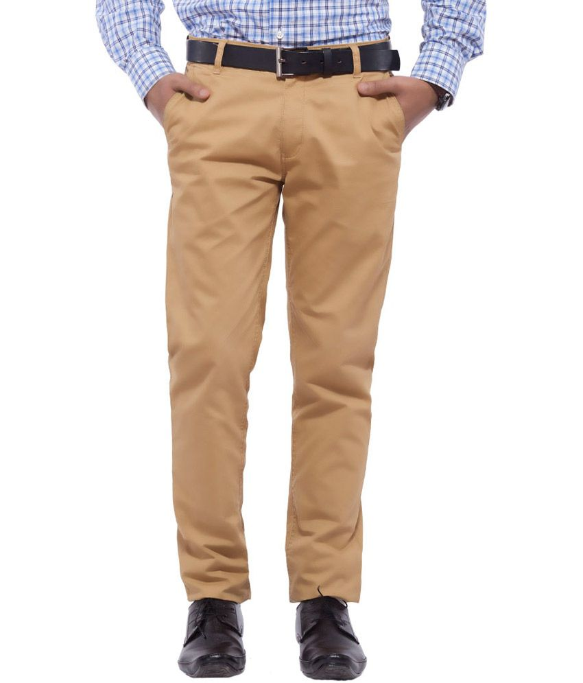 Nrt Gold Cotton Trouser