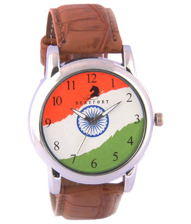 Beaufort Brown Wrist Watch For Men