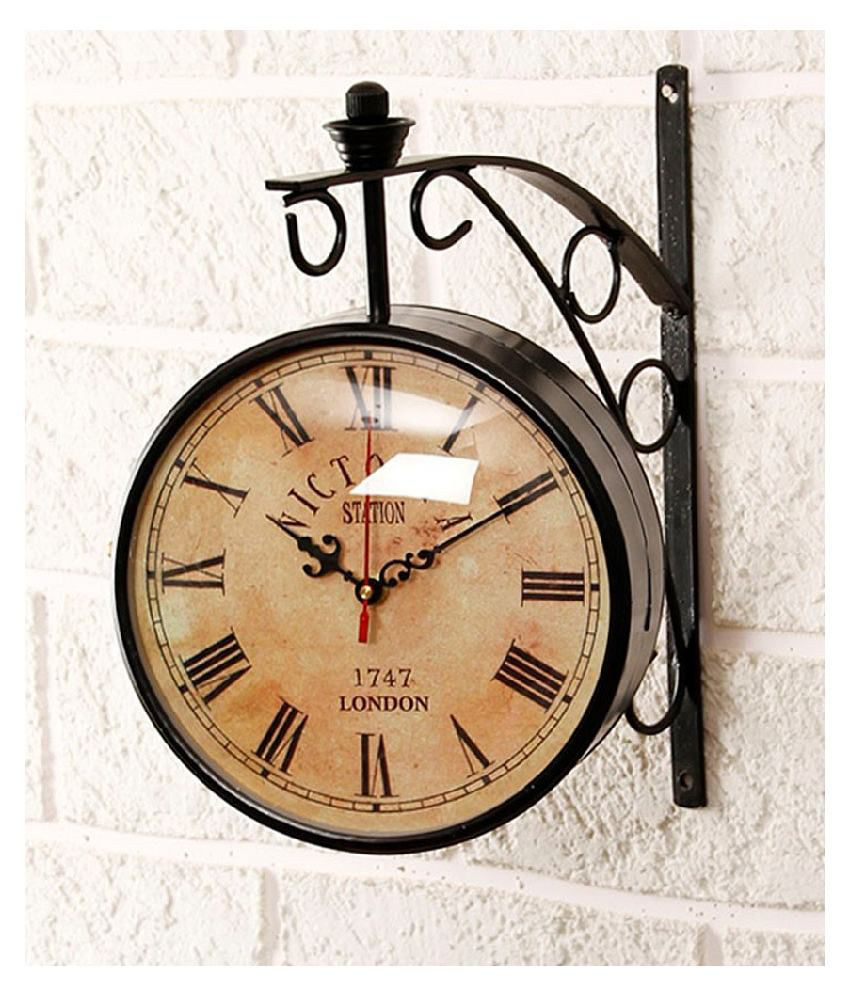 Unravel India Circular Analog Wall Clock decl0002 20.32 ...