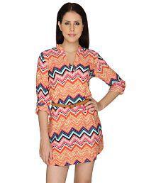 Bedazzle Multi Color Cotton Dresses