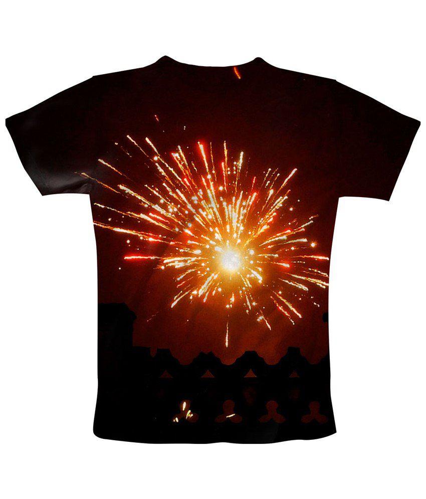 Freecultr Express Black Afterglow T Shirt