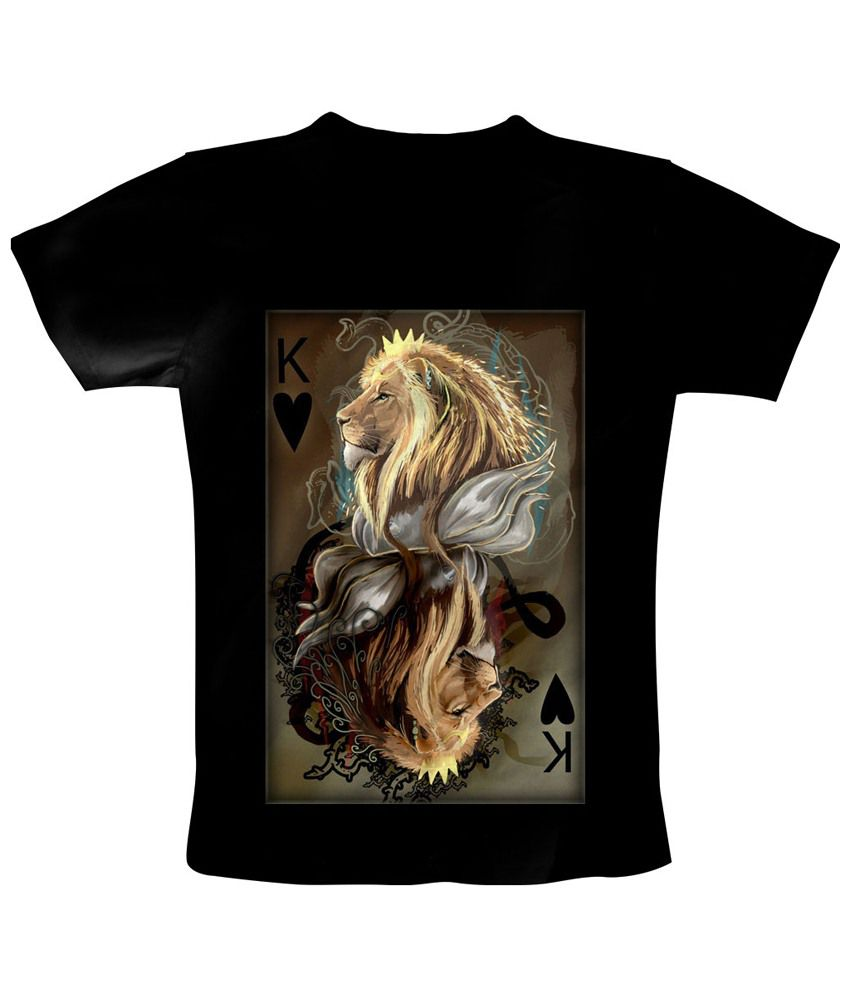 Freecultr Express Black King Of The Jungle T Shirt