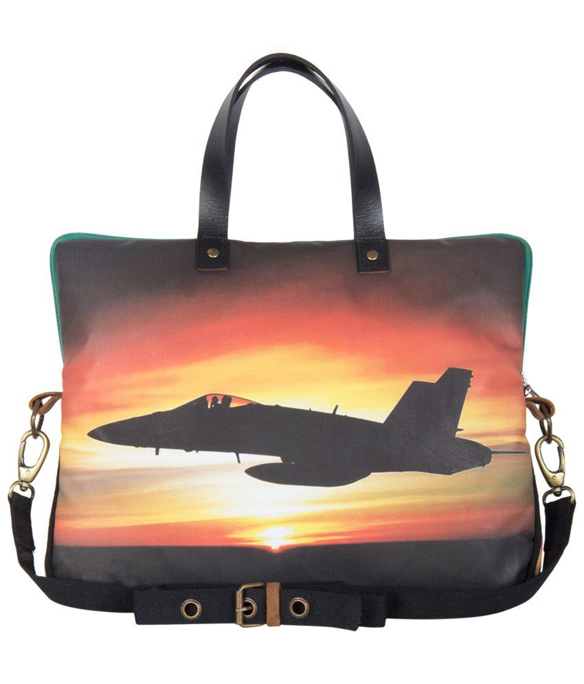 The House Of Tara Black Laptop Bag