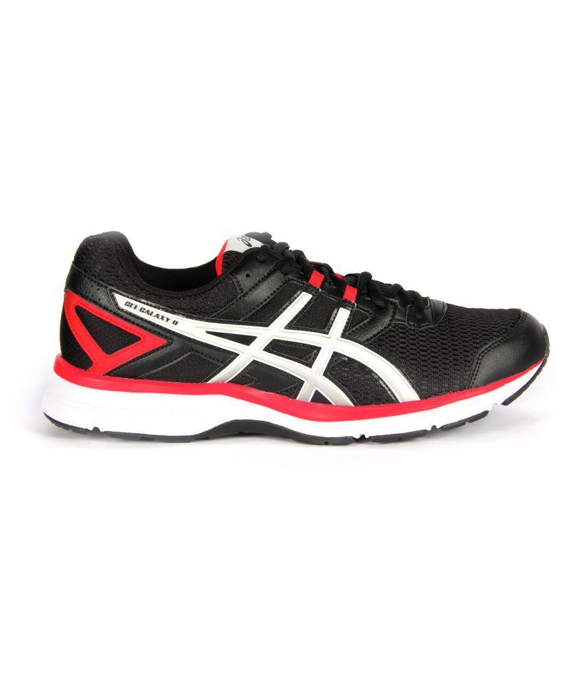 asics men red running shoes gelgalaxy 8 buy asics men