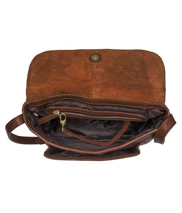 8231ff3536 Hidesign HEMERA 02 Tan Sling Bag - Buy Hidesign HEMERA 02 Tan Sling ...