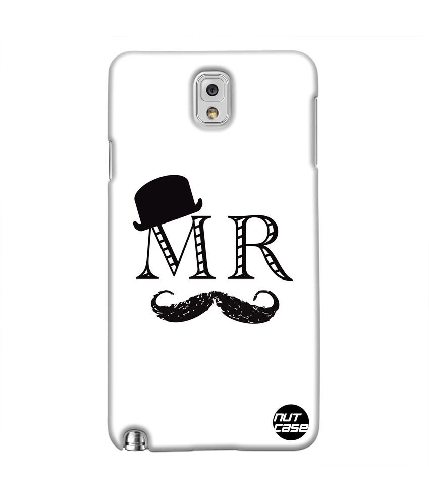 Nutcase Mr - Muticolor Samsung Galaxy Note 3 Back Case