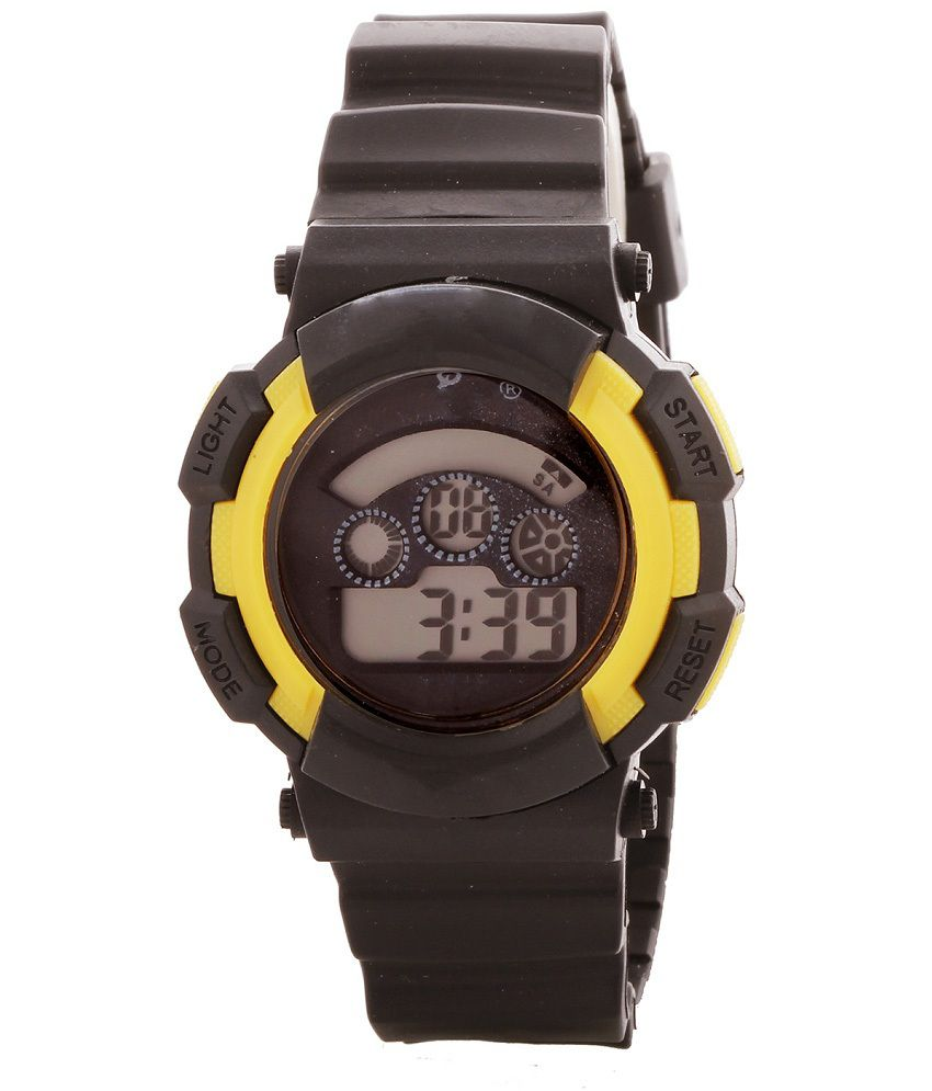 Telesonic Rtime Sports Series Digital Watch For Kids T4 588Yellow