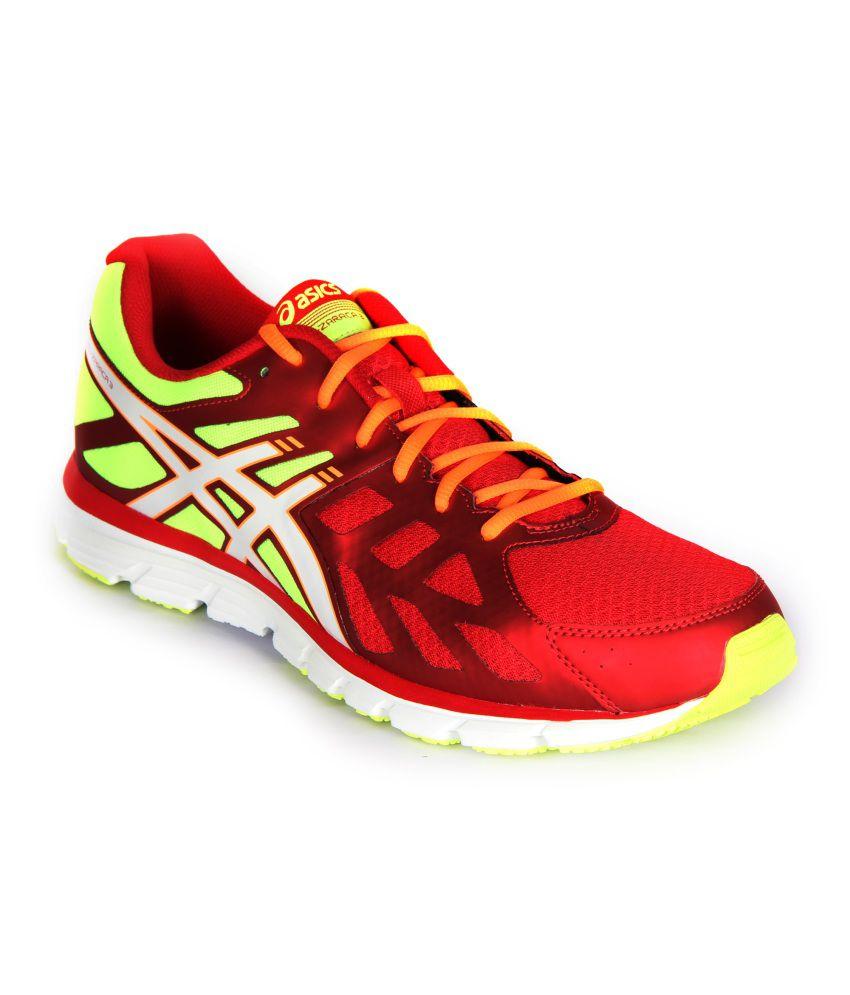 Asics Men Flash Yellow Running Shoes - Gel-Zaraca 3