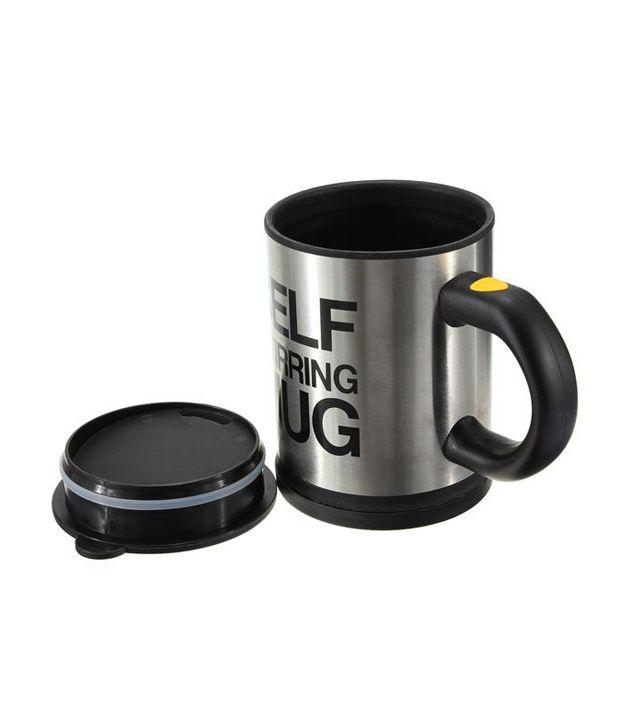 Dolphy Self Stirring Mug Black