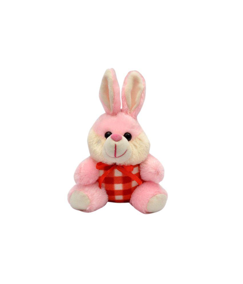 Joey Toys Pink Love Rabbit Stuffed Animal