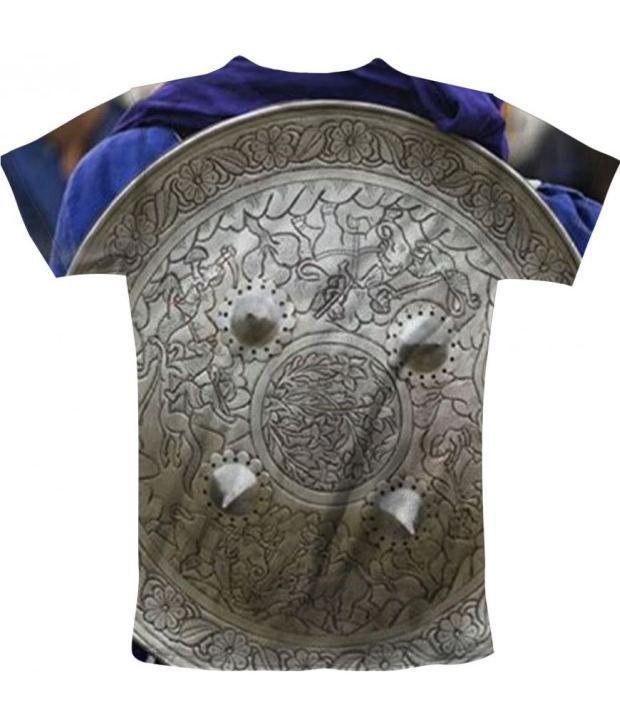 Freecultur Express Silver Cotton Blend T-shirt