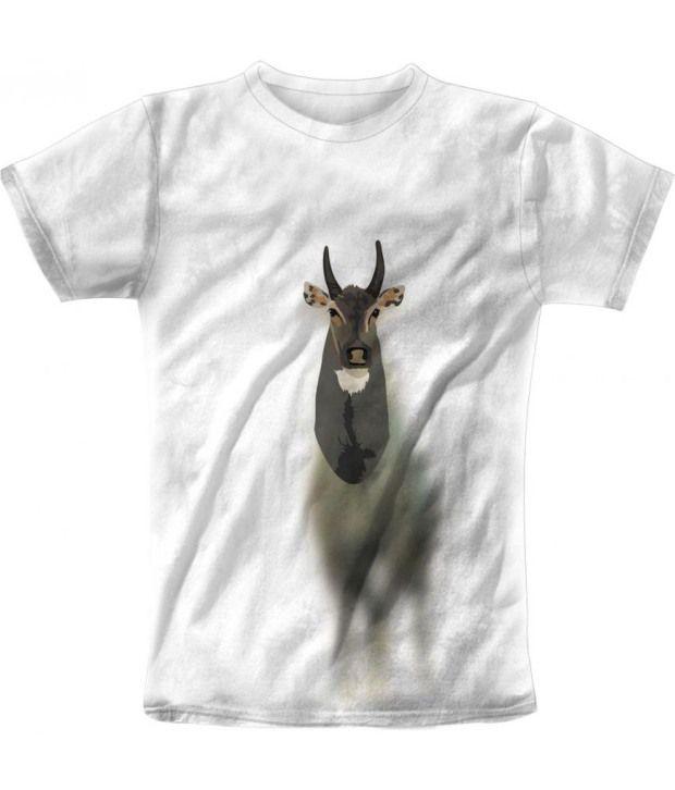Freecultur Express White Cotton Blend T-shirt