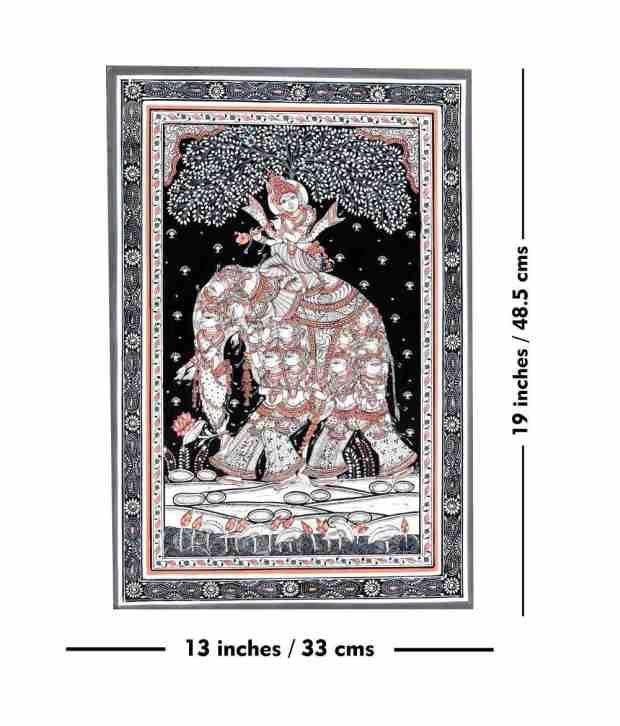 Odisha Handicrafts Sanatana Pattachitra Painting