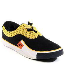 Sparx Black Smart Casuals Shoes