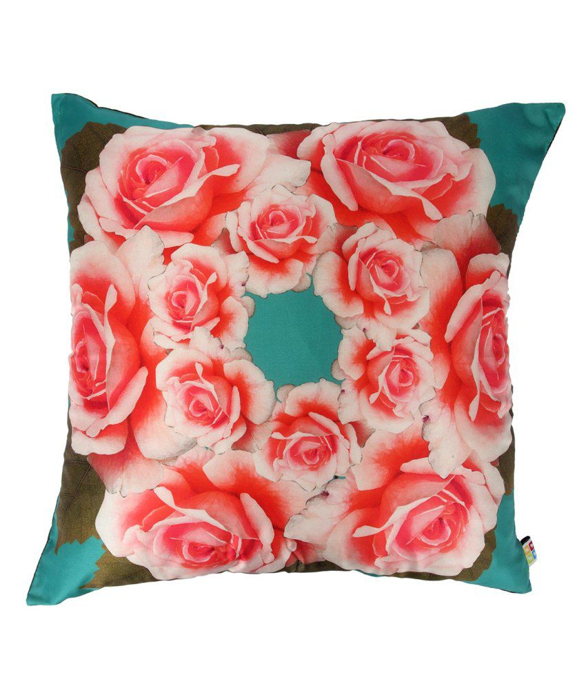The Elephant Company Red Cushion Cover