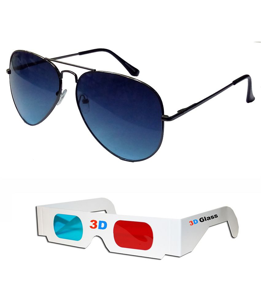 Hrinkar - Multicolor Pilot Sunglasses ( )