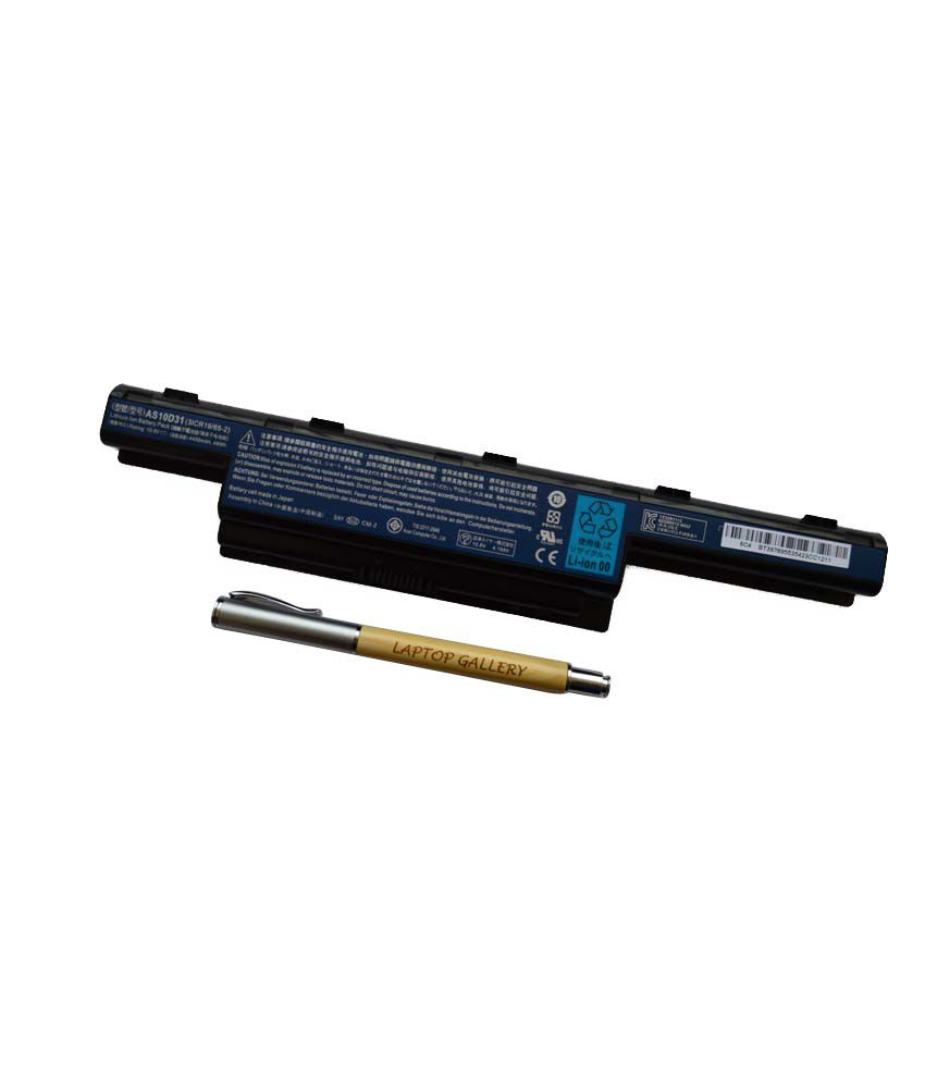 ACER GENUINE ORIGINAL LAPTOP BATTERY FOR TRAVELMATE 7740ZG-P604G50Mnss WITH PERSONALISED WOODEN PEN