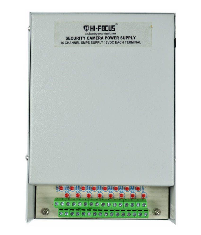 Hi Focus AIHFSMPS16CH Surveillance System connnector