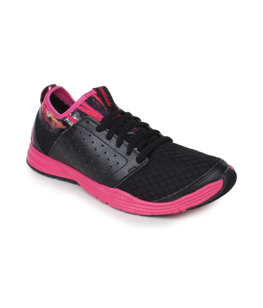 reebok black sport shoes snapdeal price sports shoes