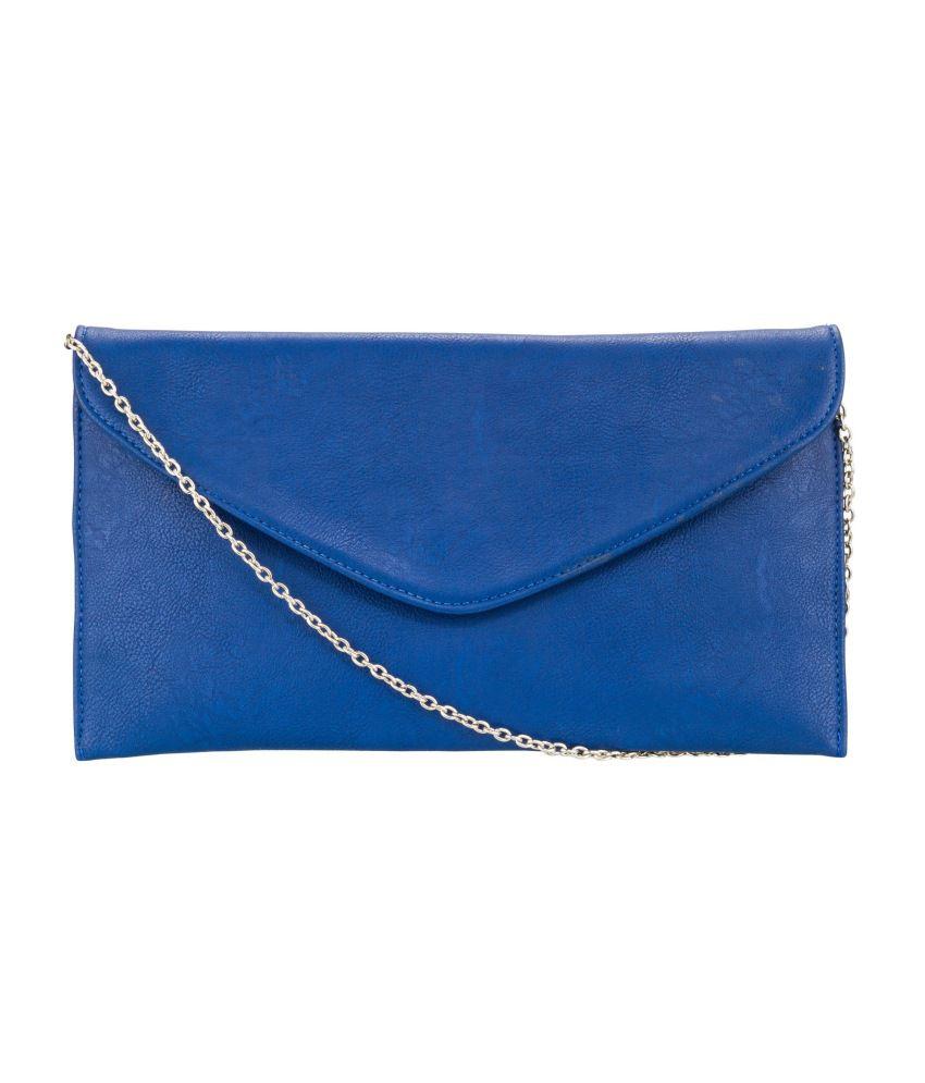 Glitters Blue Smart Sleek Shoulder Bag