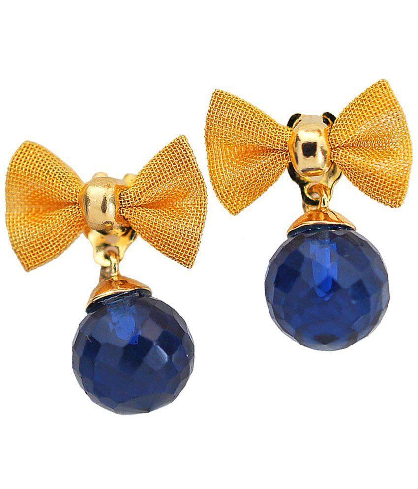 Maayra Marvellous Colour Spark Drop Earrings