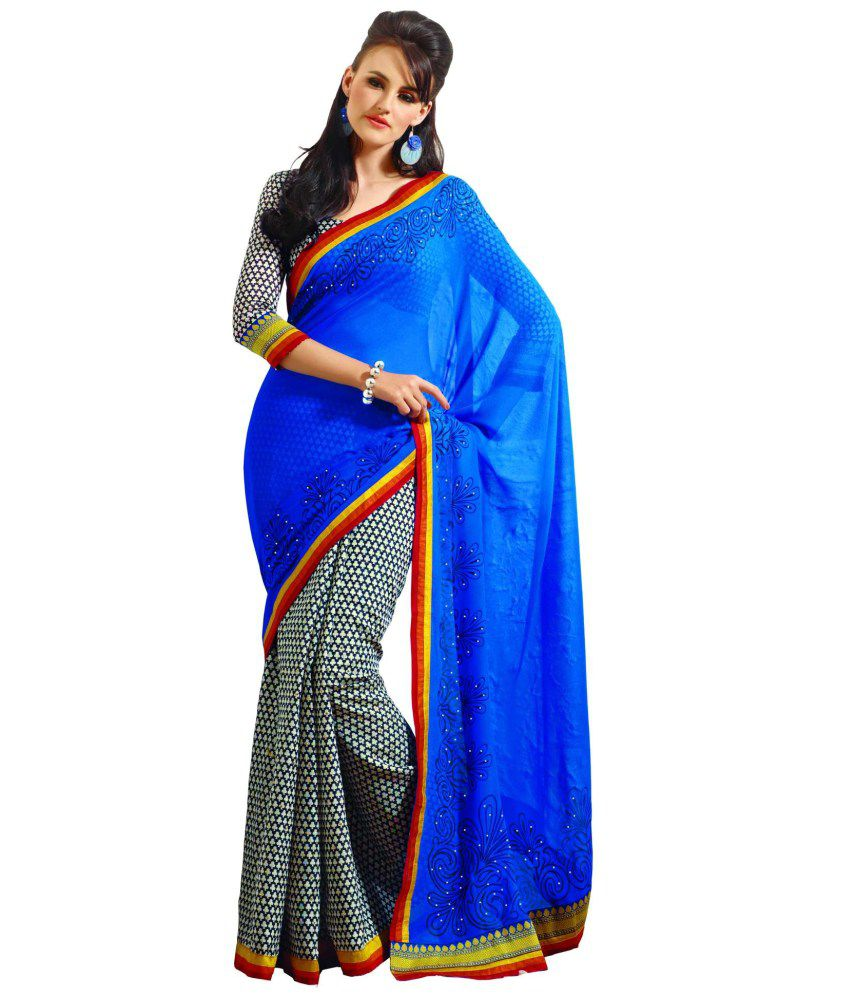 Sudarshan Silks Multicoloured Art Silk Saree