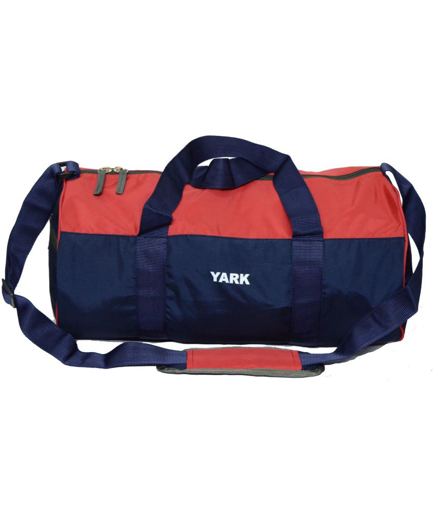 Yark Red Travel gear Gym Bag