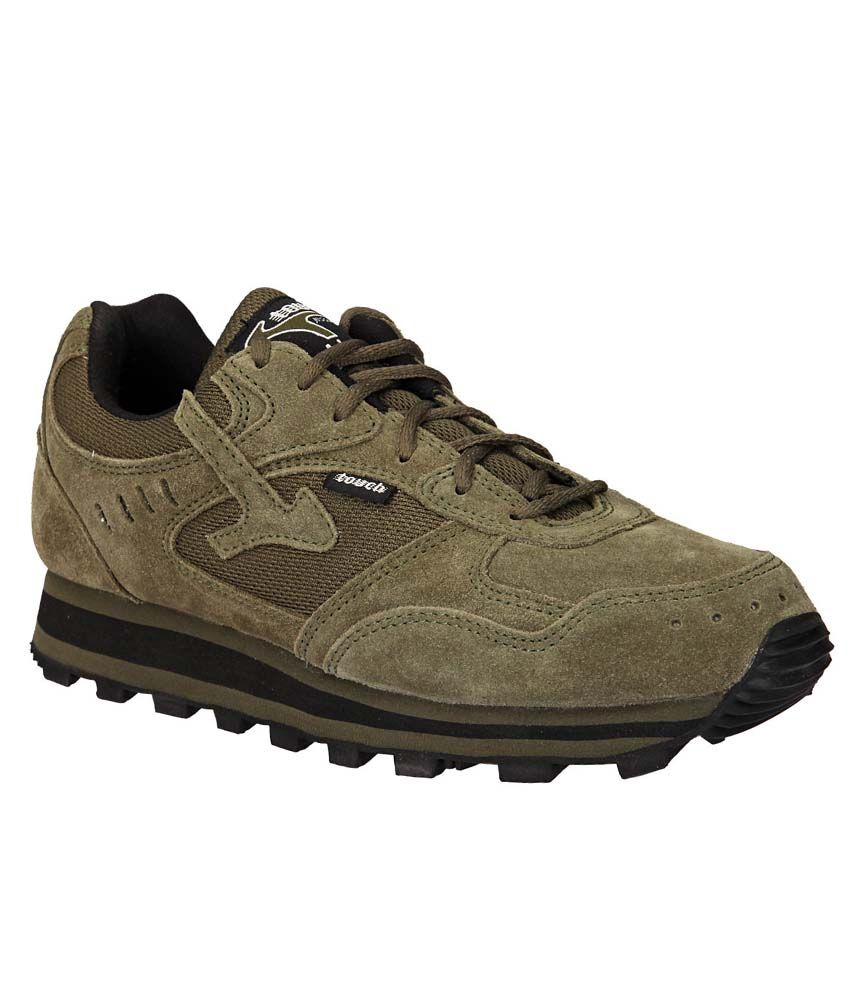 Lakhani Khaki Sports shoes for men ...
