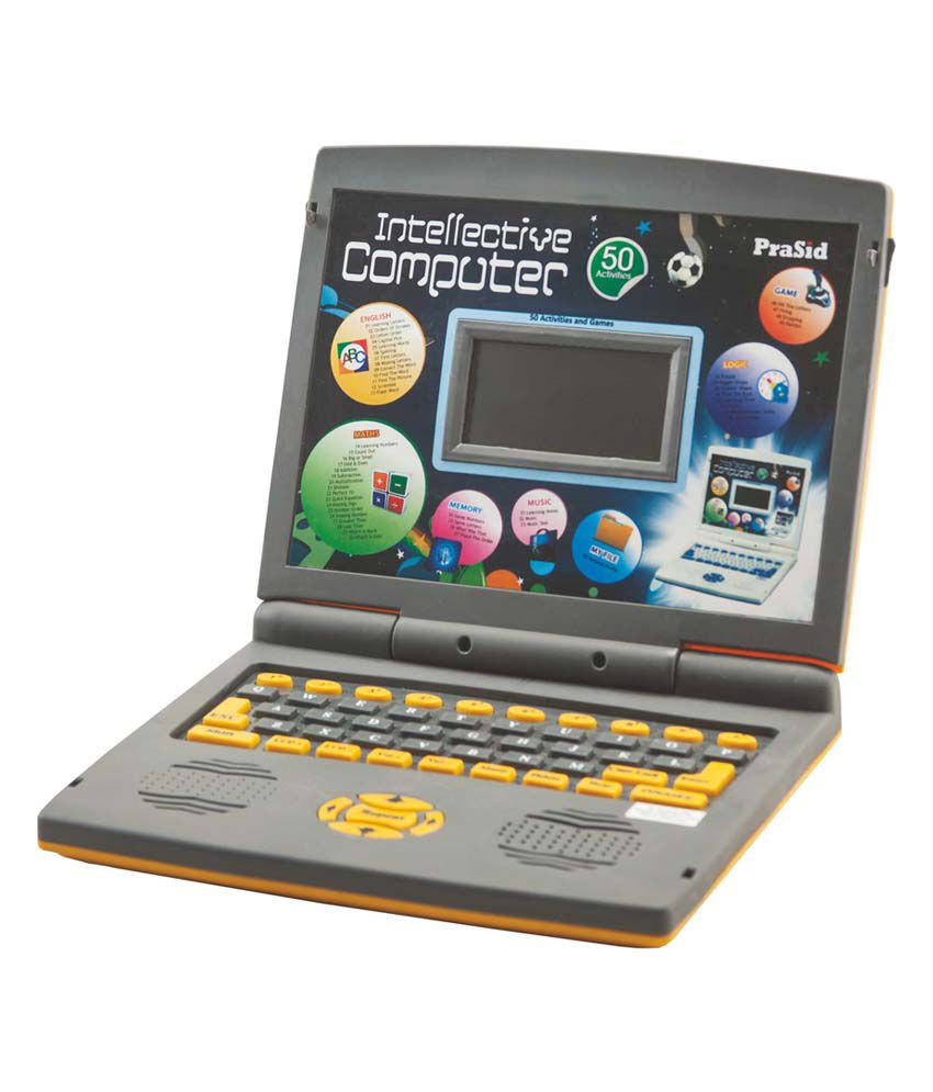 PraSid Kids Intellective Computer Toy Educational Laptop ...