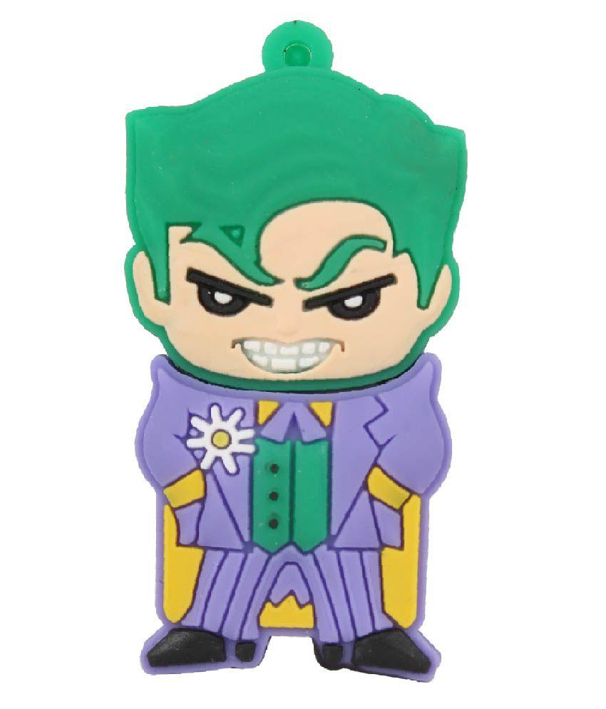 Zen The Master Joker 16 GB Pen Drives Green