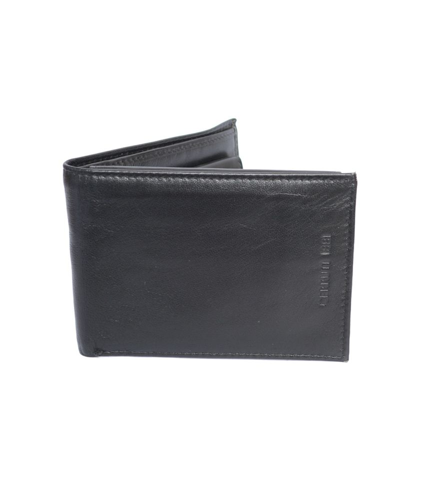60081f886b Cerruti 1881 Black Leather Formal Wallet For Men: Buy Online at Low Price  in India - Snapdeal