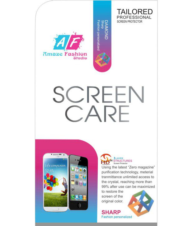 Karbonn Titanium S9 Screen Guard by Amaze Fashion Studio