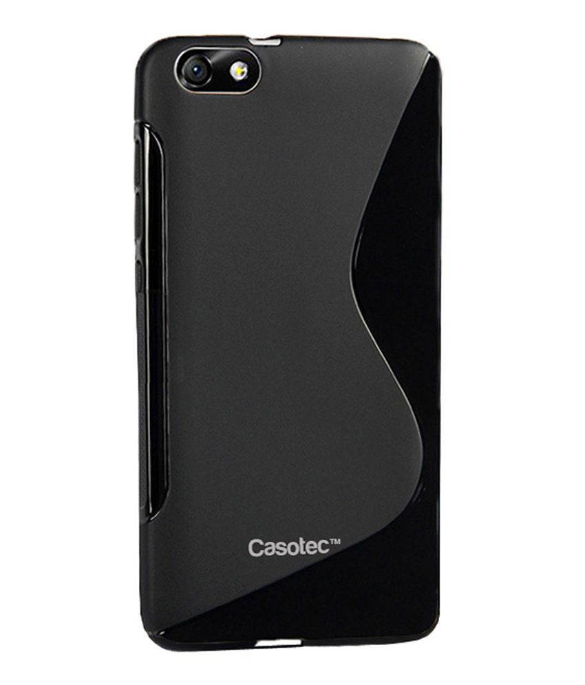 the best attitude e27d7 6d7a0 Casotec Back cover for Huawei Honor 4X - Black